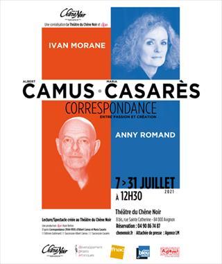 Correspondance Albert Camus, Maria Casares, Entre Passion et Création