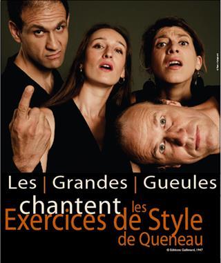 Les Grandes Gueules chantent Les exercices de style de Queneau