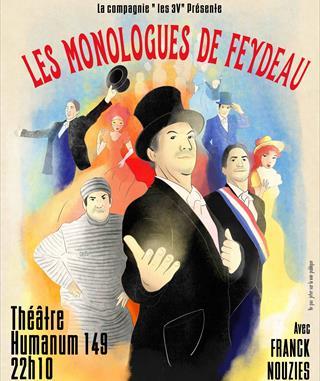 Monologues de Feydeau