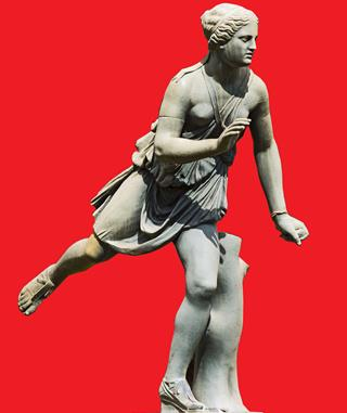 Femmes athlètes de l'Antiquité